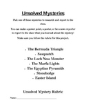 Gifted Project- Unsolved Mysteries