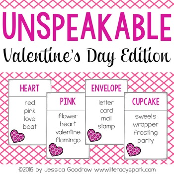 Unspeakable Valentine's Day Vocabulary Game