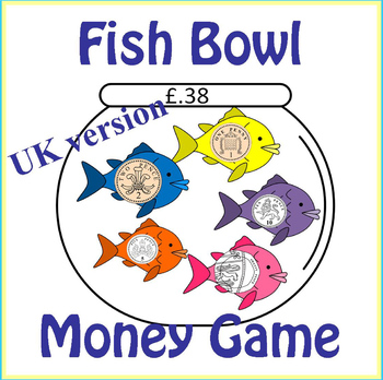 United Kingdom Fish Bowl Counting Coins Money Game