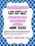 Math Vocabulary Game - Numbers and Operations