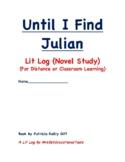 Until I Find Julian Lit Log