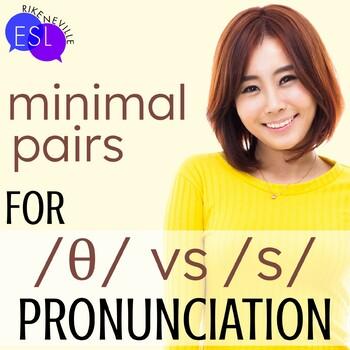 Unvoiced TH/S:  Pronunciation / Phonics for ESL Adults