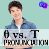 Unvoiced TH/T:  Pronunciation / Phonics for ESL Adults