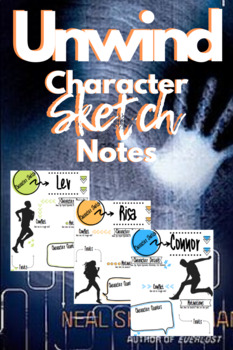 Unwind Character Sketch Notes