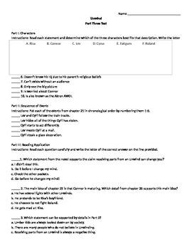 Unwind Part 3 Assessment