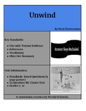 Unwind - Neal Shusterman Guided Reading Packet and MC Test
