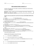 Unwind by Neal Shusterman vocabulary practice ch.1-2