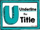 Unwrap Reading Comprehension Strategy Poster Set and Bookmarks (Teal)