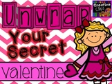 Unwrap Your Secret Valentine Clipart {Creative Clips Digital Clipart}