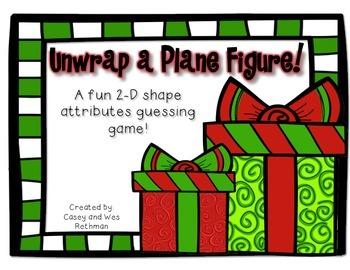 Unwrap a Plane Figure ~ Fun with 2-D Shape Attributes