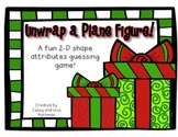 Unwrap a Plane Figure ~ Fun with 2-D Shape Attributes