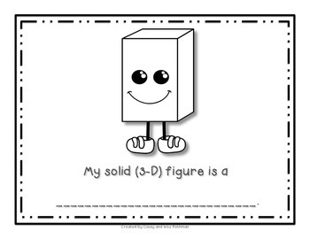 Unwrap a Solid Figure ~ Fun with 3-D Shape Attributes