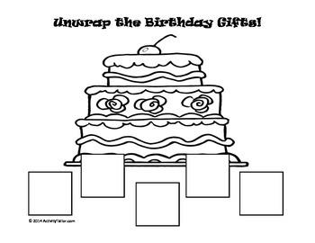 Unwrap the Birthday Gifts (FREEBIE)!