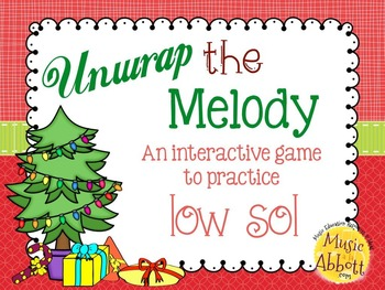 Unwrap the Melody: 3 interactive PDF games for practice low sol