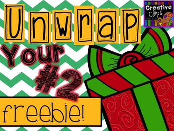 Unwrap your FREEBIE Number 2 {Creative Clips Digital Clipart}
