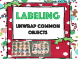 Unwrapping Common Objects: label and identify common objects