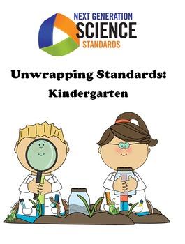 Unwrapping NGSS Standards- Kindergarten