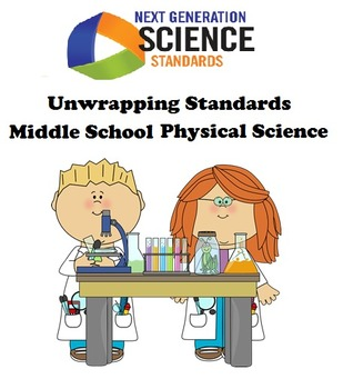 Unwrapping NGSS Standards: Middle School Physical Science