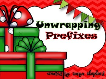 Unwrapping Prefixes task card set