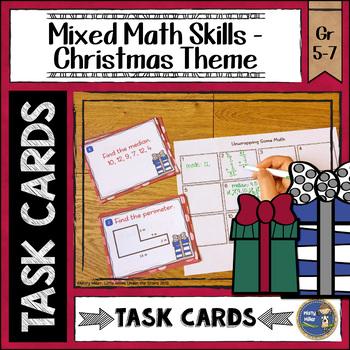 Christmas Math Task Cards
