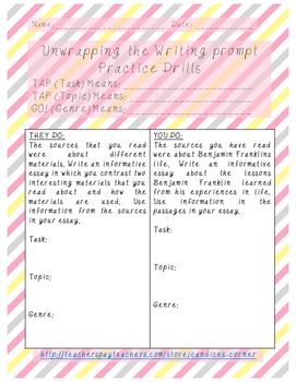 Unwrapping the prompt