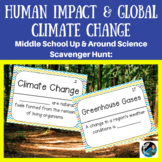 Up & Around Science Scavenger Hunt: Human Activities & Global Climate Change
