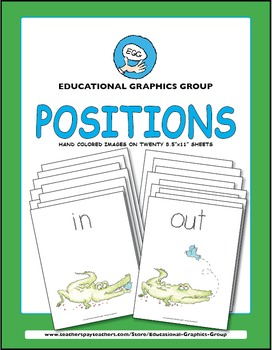 """Positions: Up Down and All Around - 8.5"""" x 11"""" Color"""