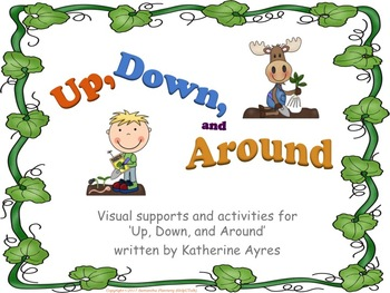 'Up, Down, and Around!' Simple Vegetable Visual Cue Cards