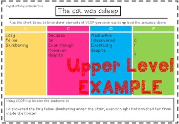 Up Level it - VCOP resource