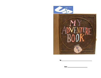 Up! Movie:  My Adventure Book