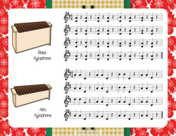 Up On the Housetop - Traditional Christmas Song with Orff Accompaniment