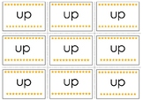 Up Pre-Primer Sight Word Flash Cards