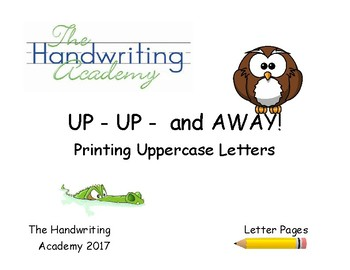Up UP and Away, Printing Uppercase Letters