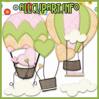 Up, Up & Away 2 Clip Art
