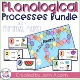 Phonological Processes Game BUNDLE for Speech Therapy