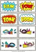 Up, Up and Away! A letter recognition game for your super kids!