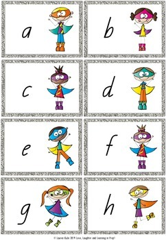 Up, Up and Away! A letter recognition game in Queensland font!