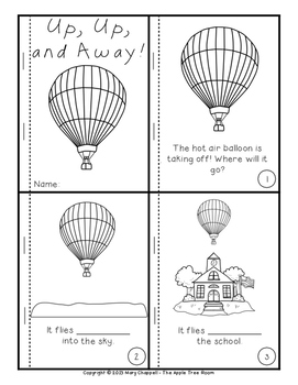 Up, Up, and Away! Hot Air Balloons Mini-Unit