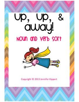 Up, Up, and Away! Noun and Verb Sort