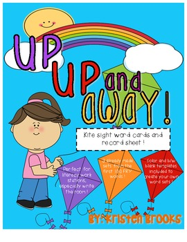 Up, Up, and Away! (Spring Kite Sight Word Literacy Station