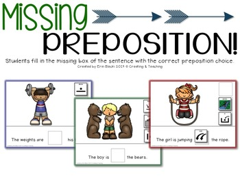 {Up, Up, and Away!} fun with Prepositions