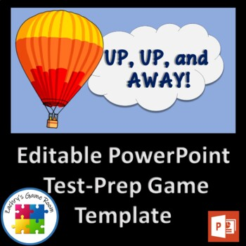 Up, Up and Away! interactive PowerPoint game template