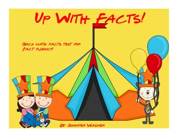 Up With Facts!  Fact fluency quizzes for addition