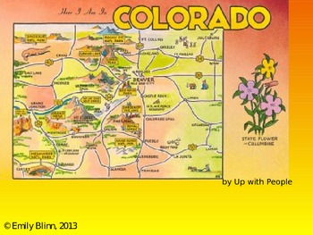"Up With People's ""Colorado!""  Sing-Along PowerPoint"