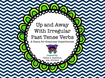 Up and Away with Irregular Past Tense Verbs: A Game for Grammar Superheroes