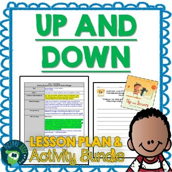 Up and Down by Oliver Jeffers 4-5 Day Lesson Plan and Activities