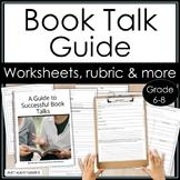 Book Talks • Reading Workshop • 40 Book Challenge • No Prep