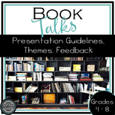 Book Talks • Reading Workshop • 40 Book Challenge • No Prep