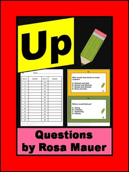Up by Jim Lamarche Comprehension Questions