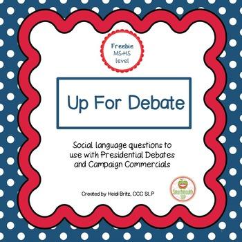 Social Skills: Presidential Debate